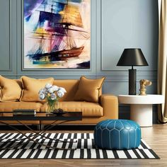 """Buying Art Online – Our Top 5 """"Go To"""" Online Galleries - Cherie Lee Interiors - Hertfordshire Interior Design Consultancy Diy Furniture Couch, Living Room Furniture, Living Room Decor, Painted Furniture, Furniture Cleaning, Furniture Sets, Living Room Designs, Living Spaces, Living Area"""