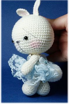 Demonstrative Bears Amigurumi Bunny ~Bella~, via Flickr.