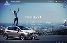 peugeot.com website