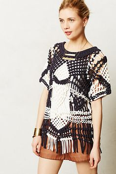 Grand Storm Knotted Pullover - anthropologie.com