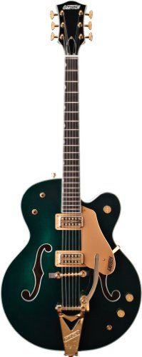 Gretsch G6196T Country Club Electric Guitar with Bigsby - Cadillac Green *** See this great product.