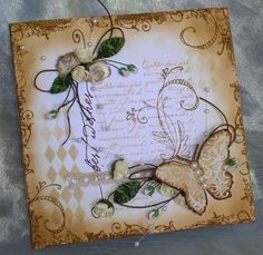 16. Butterfly card #handmade #butterflies