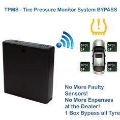 Ford Mondeo Eu Tyre Pressure Sensor Bypass Tpms System Reset Dash Light Delete Emulator Tyre Pressure Monitoring System Pinterest Tire Pressure