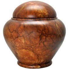 Alabaster Stone Pet Urn- Grandeur