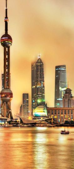 The Oriental Pearl Tv Tower of Shanghai