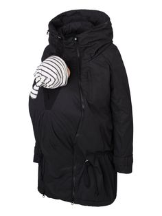 Tikka Carry Me Maternity Coat Wear 3 Ways (With Removable Baby Carrying Panel) Small/Medium Only Was £150