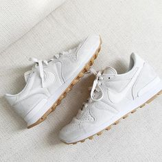 Nike Internation White Sneakers - The Daily Lady