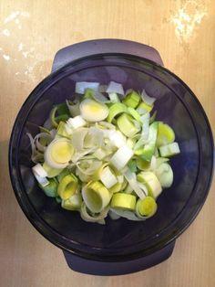 Fondue de poireaux/pommes-de-terre au micro-cook - Ma cuisine Tupperware !