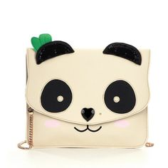 Betsey Johnson Panda Clutch ❤ liked on Polyvore featuring bags, handbags, clutches, betsey johnson purses, betsey johnson, panda purse and betsey johnson handbags