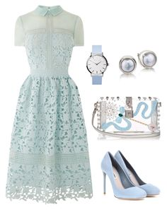 A fashion look from September 2016 featuring long shirt dress, miu miu shoes and studded purse. Browse and shop related looks. Dressy Outfits, Modest Outfits, Stylish Dresses, Elegant Dresses, Stylish Outfits, Cute Dresses, Vintage Dresses, Casual Dresses, Girl Outfits