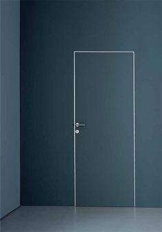 Swinging door / flush PLANUS CINQUE by Antonio Citterio TRE-P & TRE-Piu