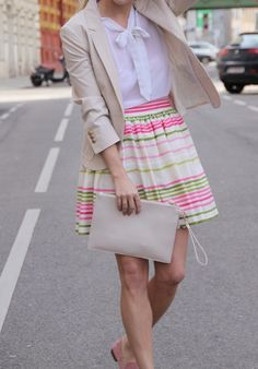 BOLD STRIPES Hi Gorgeous, Bold Stripes, Different Styles, Nice, Floral, Skirts, Fashion, Stripes, Moda
