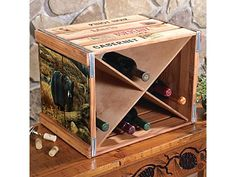 Wooden wine case Wine Gift Cabin Kitchen Decor For Your Home At Black Forest Decor Pinterest 203 Best Unique Wooden Wine Crate And Box Projects Images Crates