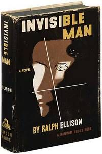 Invisible Man, by Ralph Ellison..  New York: Random House. 1952. First edition. A nicer than usual copy. Jacket designed by E. McKnight Kauffer, with a photograph of Ellison by Gordon Parks. Along with Native Son, one of the two post-Harlem Renaissance African-American novels that have entered the Western Canon as acknowledged classics. Winner of the National Book Award, as well as a Burgess 99 title.  Listed by Between the Covers - Rare Books, Inc. ABAA.  #harlemrenaissance #firstedition