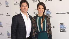 Nikki and Ian Somerhalder at Film Independent Spirit Awards on Saturday,  February 27, 2016 in Santa Monica, CA