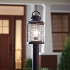 Woodbury Gray Lamp Post Lamppost Outdoorlighting