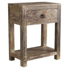 You should see this Harbor End Table in Lime Wash on Deals + Modern Design Ideas | AllModern