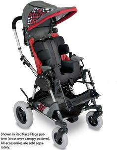 Pediatric wheelchair stroller style pushchairs e special needs