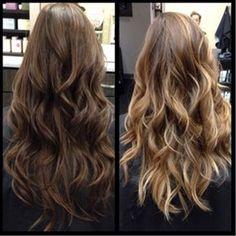 balayage Highlights by Staiy Tran Love Hair, Great Hair, Gorgeous Hair, Ombre Hair, Balayage Hair, Bayalage, Shatush Hair, Hair Color And Cut, Hair Colour