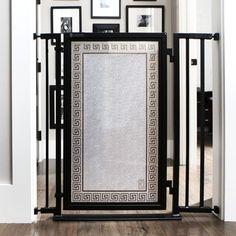 Fusion Gates Beautiful Gates for Dog & Baby, Greek Key