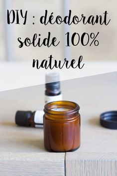 DIY déodorant solide naturel