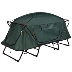 8 Person Portable Family Large Tent for Traveling Camping Hiking &Blue.Push the poles throuth the sleeves on tent outer.This completes the tent. Best Tents For Camping, Cool Tents, Camping Gear, Camping Hacks, Outdoor Camping, Lightweight Tent, Tent Campers, California Camping, Southern California