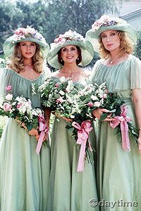 Robert and Anna's wedding.... Felicia, Bobbie, and Tiffany