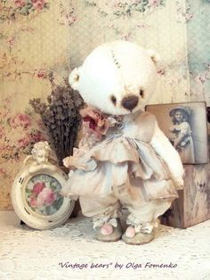 Teddy Bear Mikella by Fomenko+Olga+