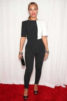 Modest Fashion at the Grammys: Beyonce (She's a T3, but her outfit was definitely T4)