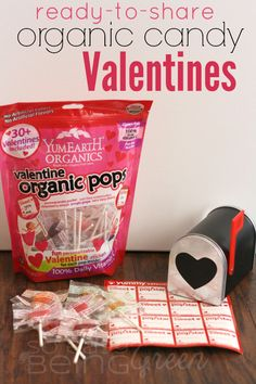 Ready to Share YumEarth Organic Valentines Candy
