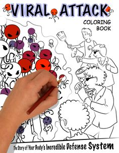 Coloring Book Full Of Microbes