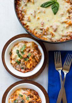 Easy One-Skillet Lasagna Recipe