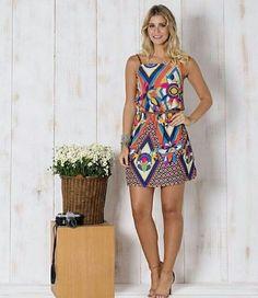 Vestido alcinha com cintinho | lindo pra nova estação #vestido #vestidoestampado #primaveraverao #lindeza
