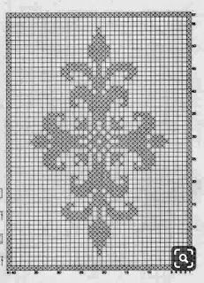 Hobilerim ve ben: 2019 Modern Cross Stitch Patterns, Cross Stitch Designs, Crochet Chart, Filet Crochet, Cross Stitching, Cross Stitch Embroidery, Loom Patterns, Celtic Cross Stitch, Couture Facile