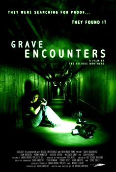 Our fourth random movie was one of Becky's additions to our Netflix Bucket: the 2011 horror film Grave Encounters . Becky had seen this mon. Top Rated Horror Movies, Horror Movies On Netflix, Best Horror Movies, Horror Movie Posters, Scary Movies, Greatest Movies, Awesome Movies, 2011 Movies, Hd Movies