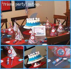 shark party polkadots & pirates {the blog}: Boy Themes