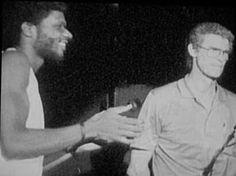 Larry Levan and Richard Long Larry Levan, Paradise Garage, Richard Long, Acid House, Dj Booth, Dj Equipment, Vinyl Music, The Dj, House Music