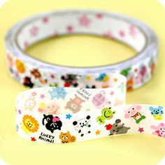 Buy Kawaii Deco Tape - Lucky Animal at Tofu Cute