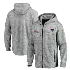 325f04c8337 Men s New England Patriots Pro Line by Fanatics Branded Heathered Gray Super  Bowl LI Champions Left