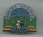 For Sale - NBA Minnesota Timberwolves Vintage City Skyline Pin From the 1990's Rare!