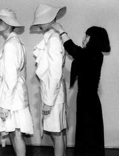 morsure:    comme des garçons backstage, 1987      EVERYTHING in IT'S right PLACE………No.17