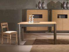 Tavolo da pranzo design estensibile bianco brillante
