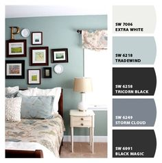 Paint colors from Chip It! by Sherwin-Williams. Tradewind blue