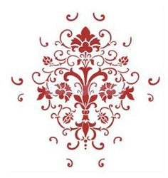 Reusable Floral Wall Painting Paint Stencil Template DIY Art for Home Wall Decor