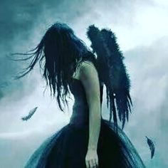 ~you are cast off from the heavens to the ground, blackened feathers falling down~ Gothic Angel, Gothic Fairy, Angels Among Us, Angels And Demons, Angel Warrior, Fantasy Warrior, Fallen Angel Art, Sad Angel, Gothic Images