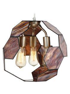 Honeycomb 3-Light Pendant by Varaluz at Gilt