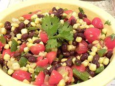 Black Bean and Corn Salsa. Happy Cinco de Mayo!