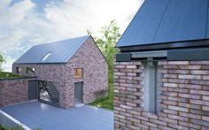 Rectangular roof gutter / steel HIDDEN GALECO