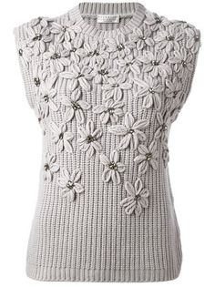 Browse striking designs in the women's sweaters edit at Farfetch. Find designer wool sweaters for women from a range of luxury labels.Discover thousands of images about My Flowers and Pearls Sweater in Pink - Sweaters - Tops - Retro, Indie and Unique Knitwear Fashion, Knit Fashion, Sweater Fashion, Mode Crochet, Knit Crochet, Knitting Designs, Knitting Patterns, Tricot D'art, Arm Knitting