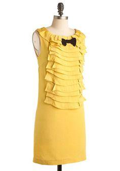 A sunny dreamy dress.